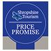 Shropshire Tourism Price Promise